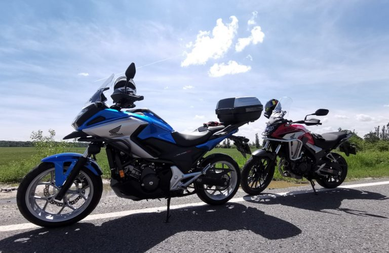 Test ride HONDA CB500X & NC750X 2019 [VIDEO]