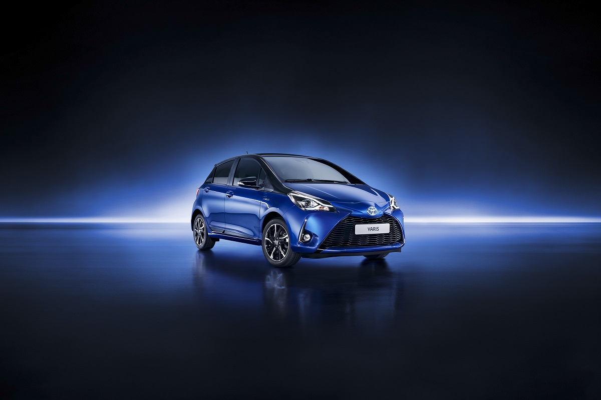 Noua Toyota Yaris Hybrid cu Toyota Safety Sense este disponibila in Romania