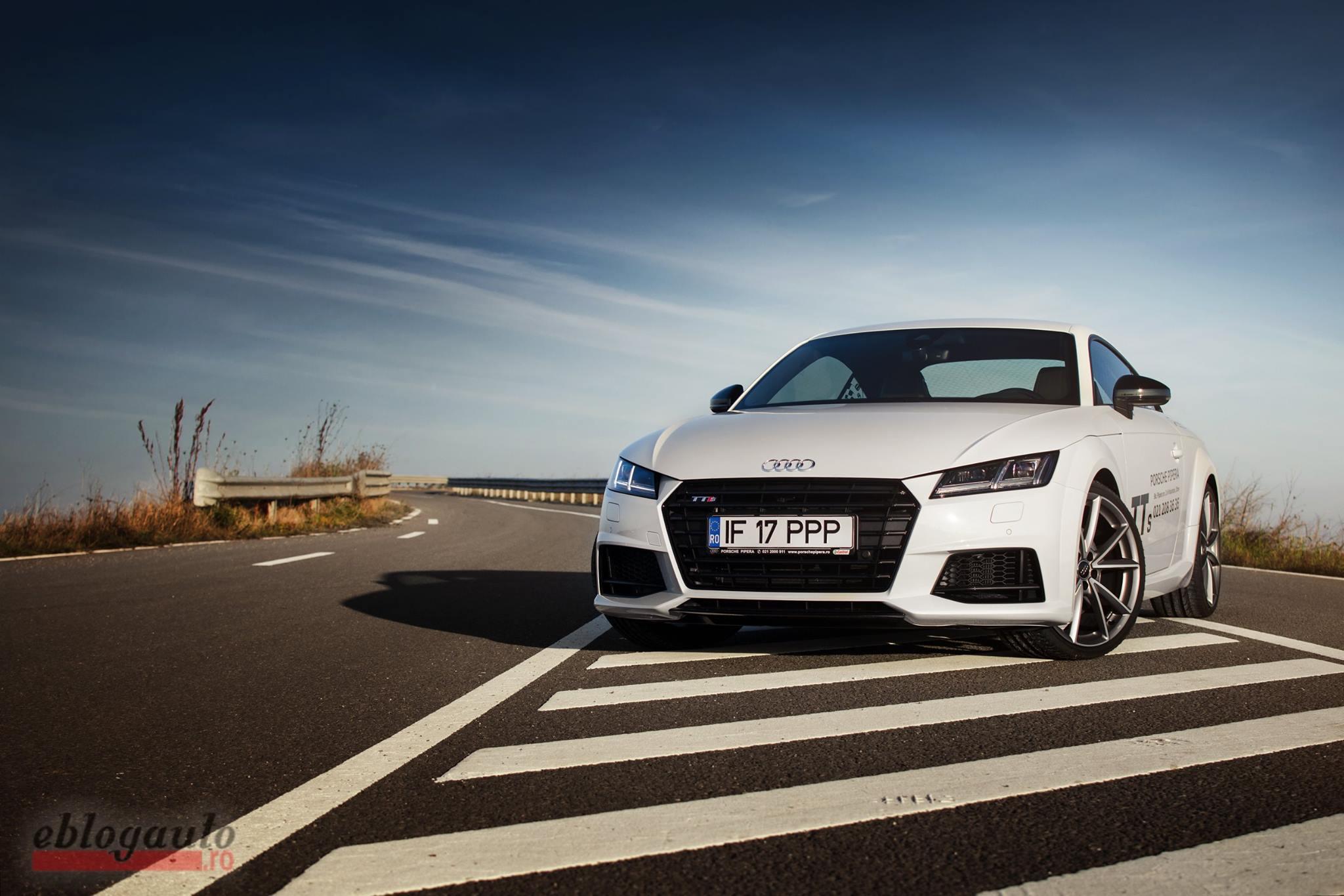 Audi TTS 2.0 310 CP S-TRONIC Quattro 2016 Review & Video