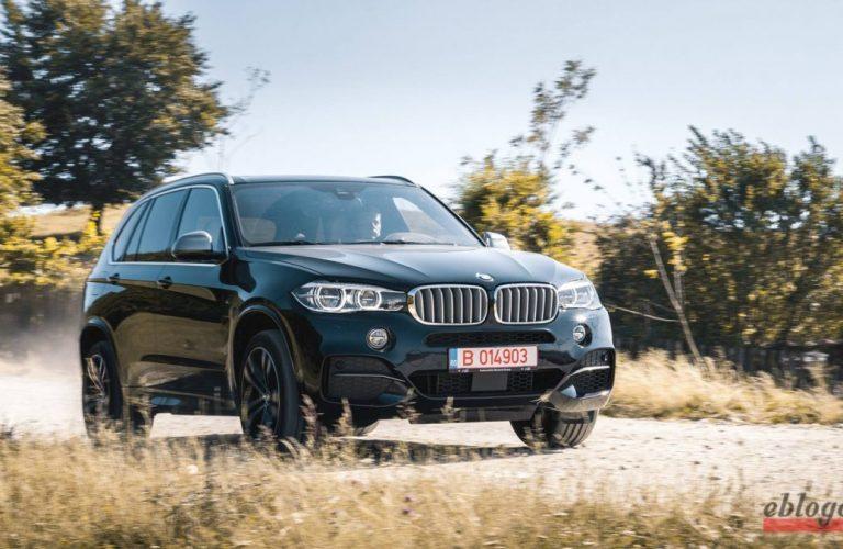 Test Drive BMW X5 M50d 2016