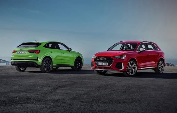 SUV-uri de performanță noi de la Audi, RS Q3 si RS Q3 Sportback