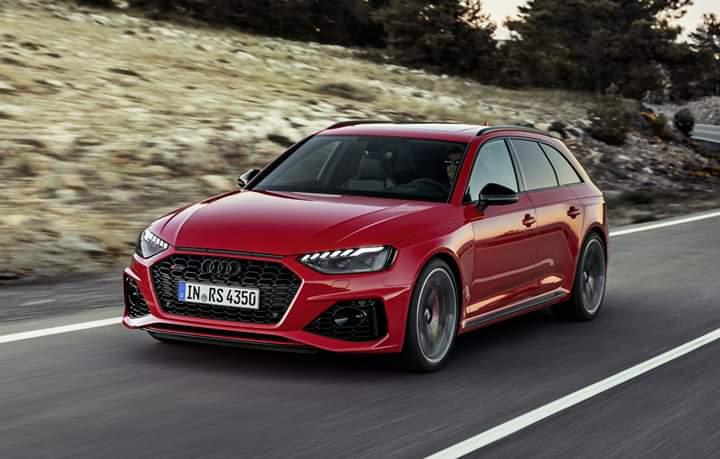 Facelift pentru Audi RS4 Avant