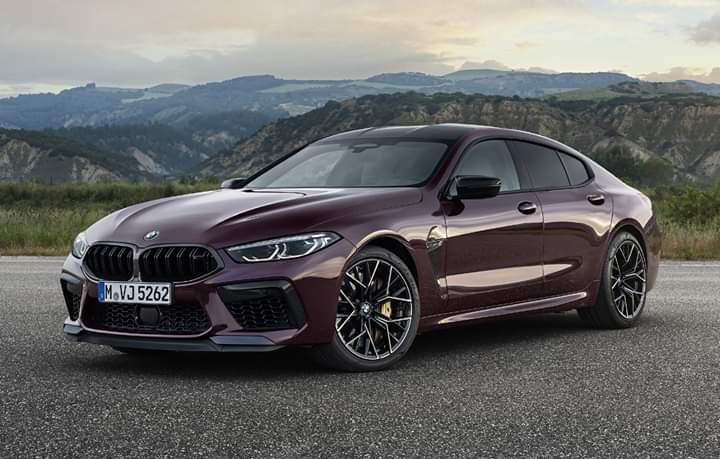 BMW M8 Gran Coupe, primele detalii oficiale