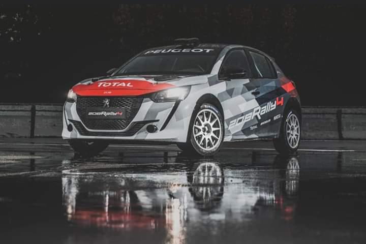 Peugeot 208 Rally 4 intră pe scena raliurilor