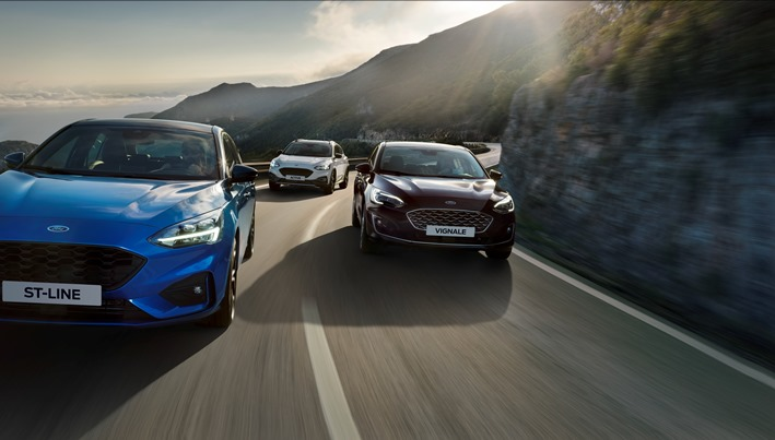 Ford dezvăluie noul Ford Focus: cel mai inovator, dinamic și fascinant Ford