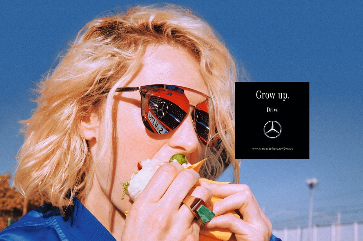 """Grow up."" o campanie revolutionara Mercedes-Benz"
