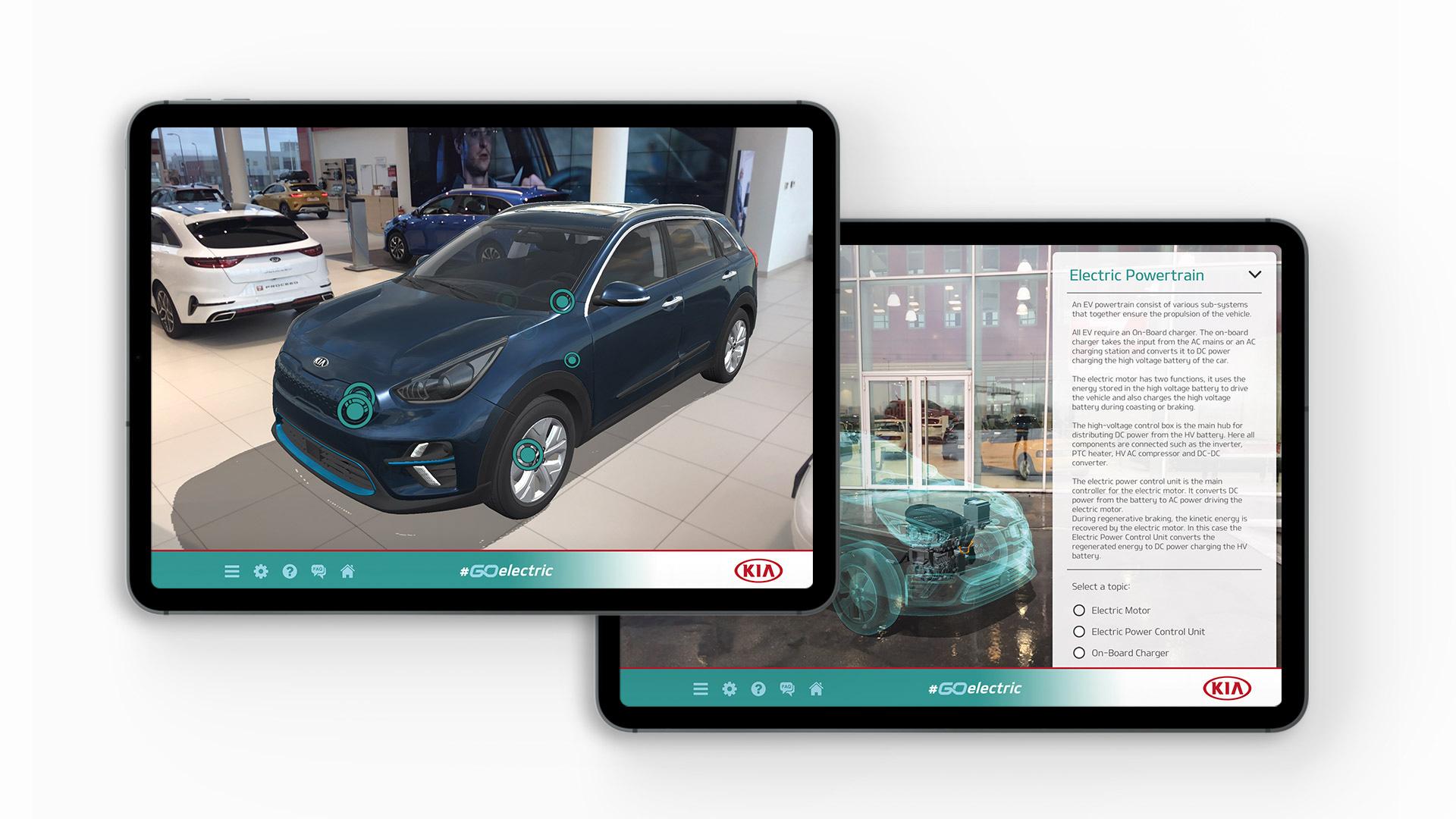 Noua aplicație 'Go Electric' dezvoltată de Kia