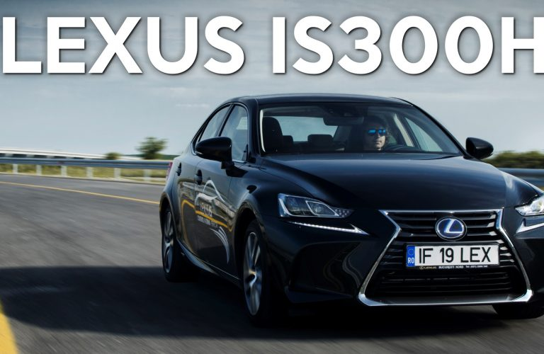 Test Drive Lexus IS300h 2017 [VIDEO]