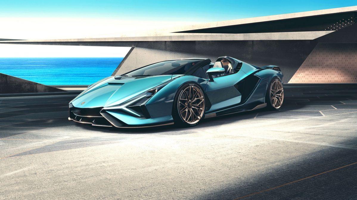 Lamborghini Sián Roadster: tehnologia viitorului sub cerul liber