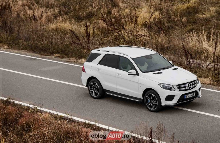 Test Drive MERCEDES-BENZ GLE 500 e 4MATIC 2017 [VIDEO REVIEW]