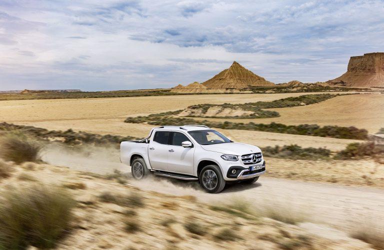 Noul pickup Mercedes-Benz Clasa X