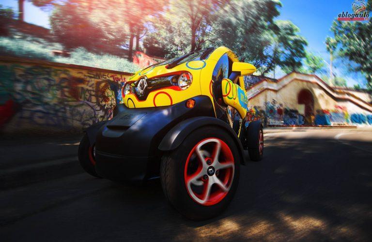 Test Drive Renault Twizy Urban 80: Kart-ul electric pregatit de Bucuresti