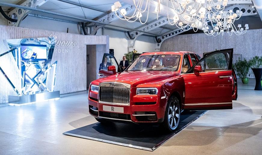 Noul Rolls-Royce Cullinan a debutat oficial in Romania