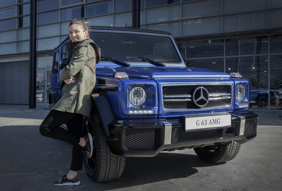 Simona Halep devine ambasador Mercedes-Benz in Romania