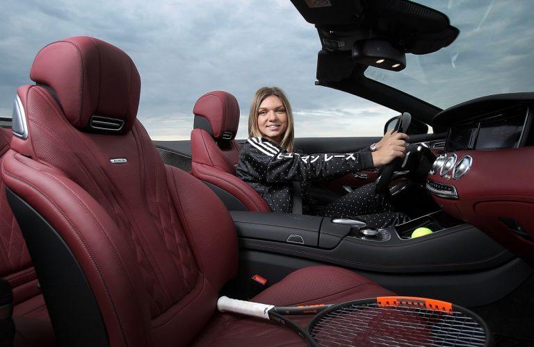 Simona Halep va conduce un Mercedes-AMG S63 4MATIC Cabriolet