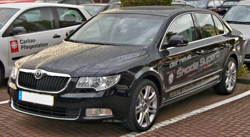 Test Driver – Business Insider: Skoda Superb 1.8 TSI