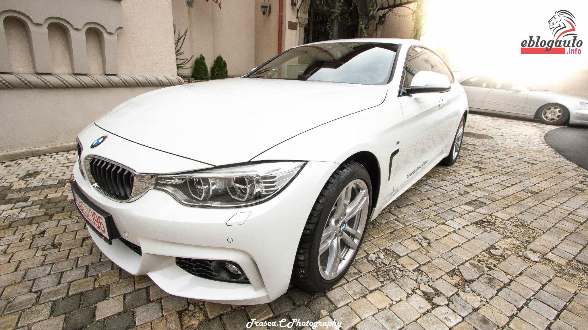 Test Drive BMW Seria 4 xDrive Gran Coupe (420d)