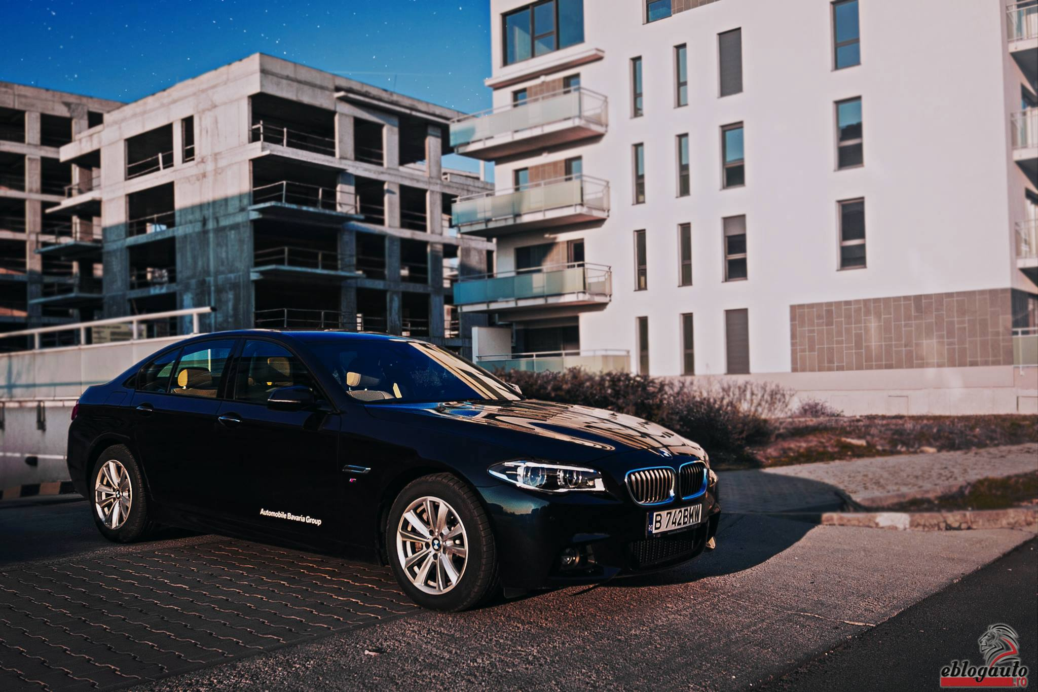 Test Drive BMW 525d xDrive