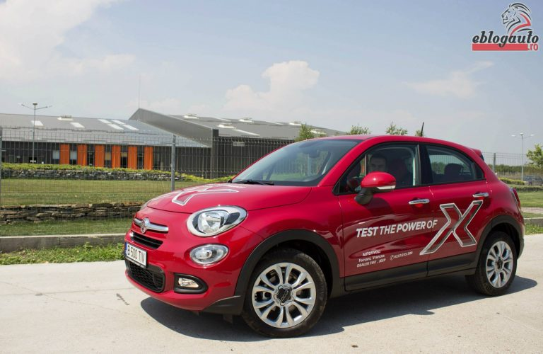 Test Drive Fiat 500X 1.6 Mjet 120 CP MT6 4×2 Pop Star