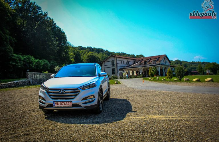 Test Drive Hyundai Tucson 1.6 T-GDI 177 CP 4wd 7DCT Luxury+