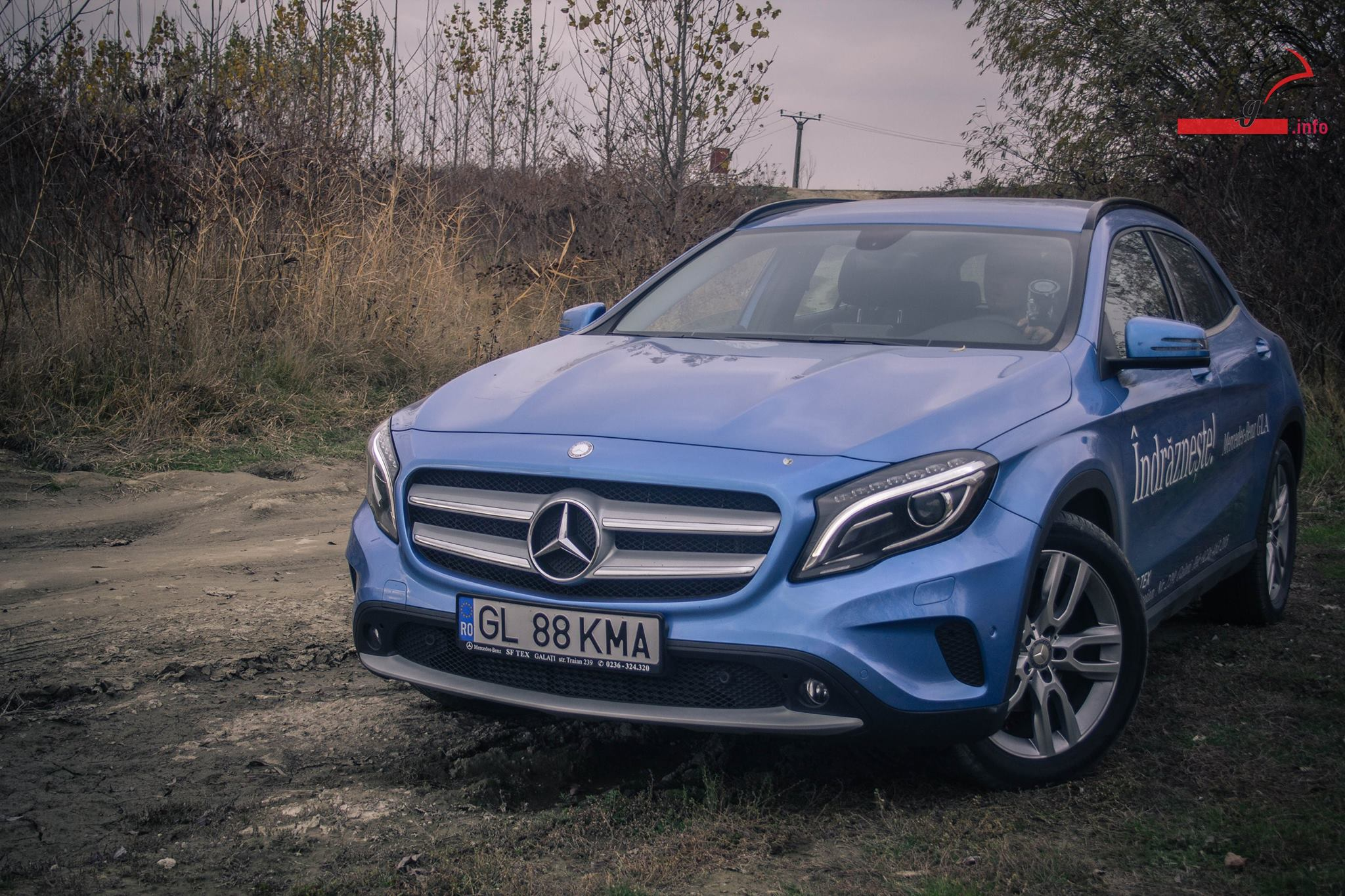 Test Drive Mercedes-Benz GLA 220CDI 4Matic