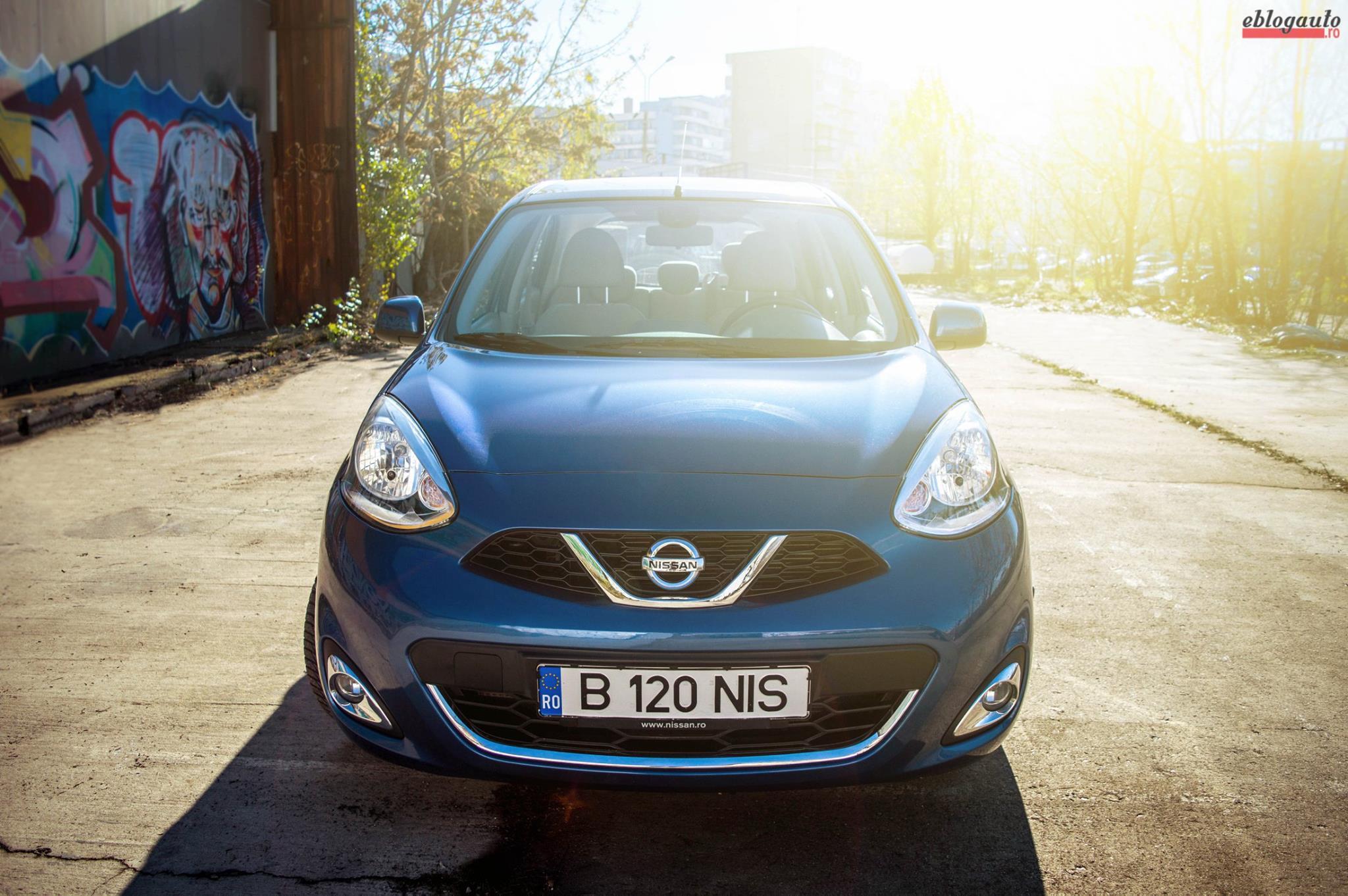 Test Drive Nissan Micra 1.2 litri benzina DIG-S cu Stop&Start