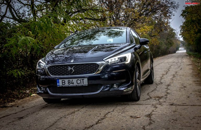 Test Drive Noul DS 5 (ex Citroen) 2.0 BlueHDi 180 EAT6 SPORTCHIC