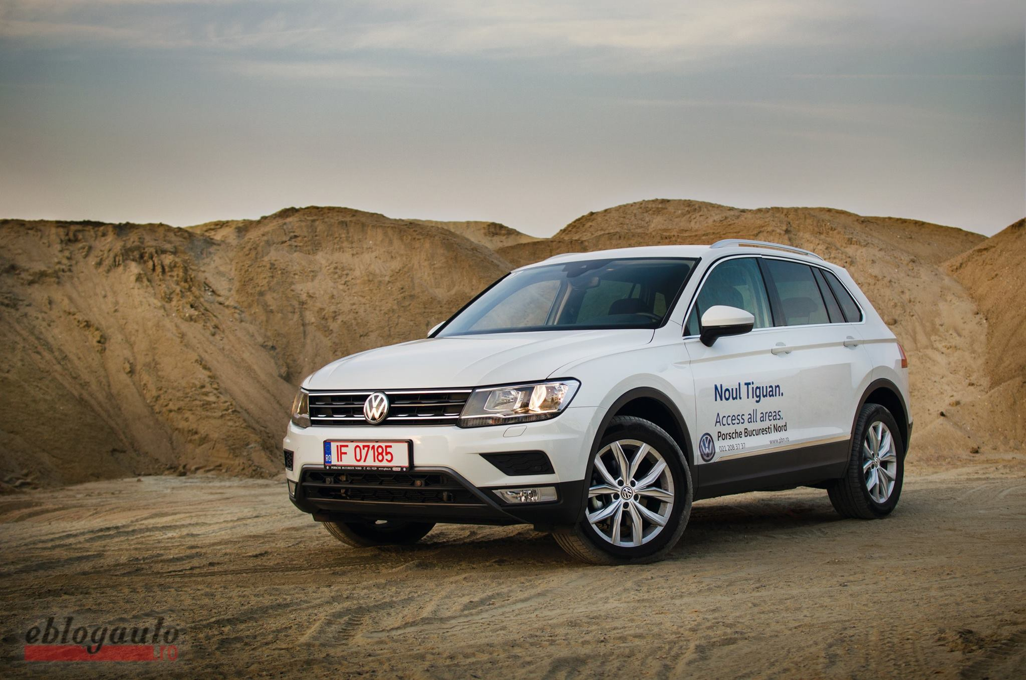 Test Drive Volkswagen Tiguan 2.0 TDI 150 CP DSG REVIEW & VIDEO