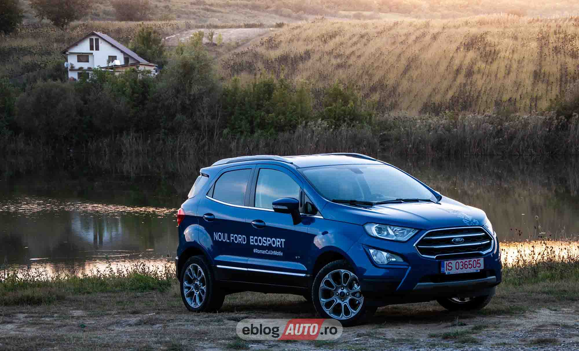 Test Drive Ford Ecosport MCA Titanium 1.5 ECOBLUE 125 CP M/T AWD 2019 [VIDEO]