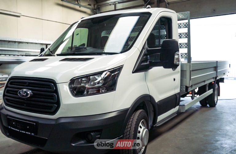 Test Drive Ford Transit si despre carosari [VIDEO]