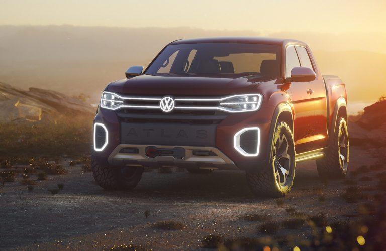 Prototipul noului Volkswagen Atlas Tanoak Pickup, prezentat la salonul auto de la New York