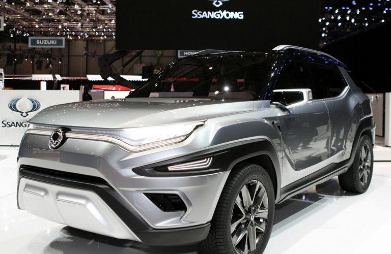SsangYong a dezvaluit XAVL si Y400