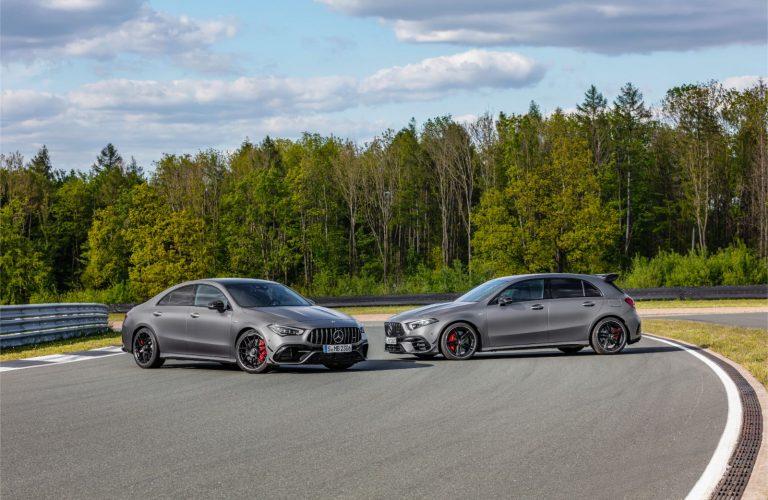 Mercedes AMG A 45 și CLA AMG 45, noile modele de performanță ale germanilor