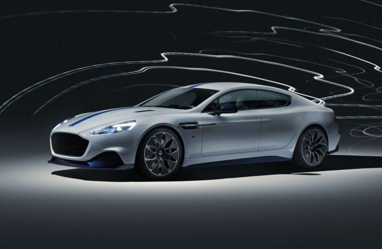 Rapide E, primul Aston Martin electric.