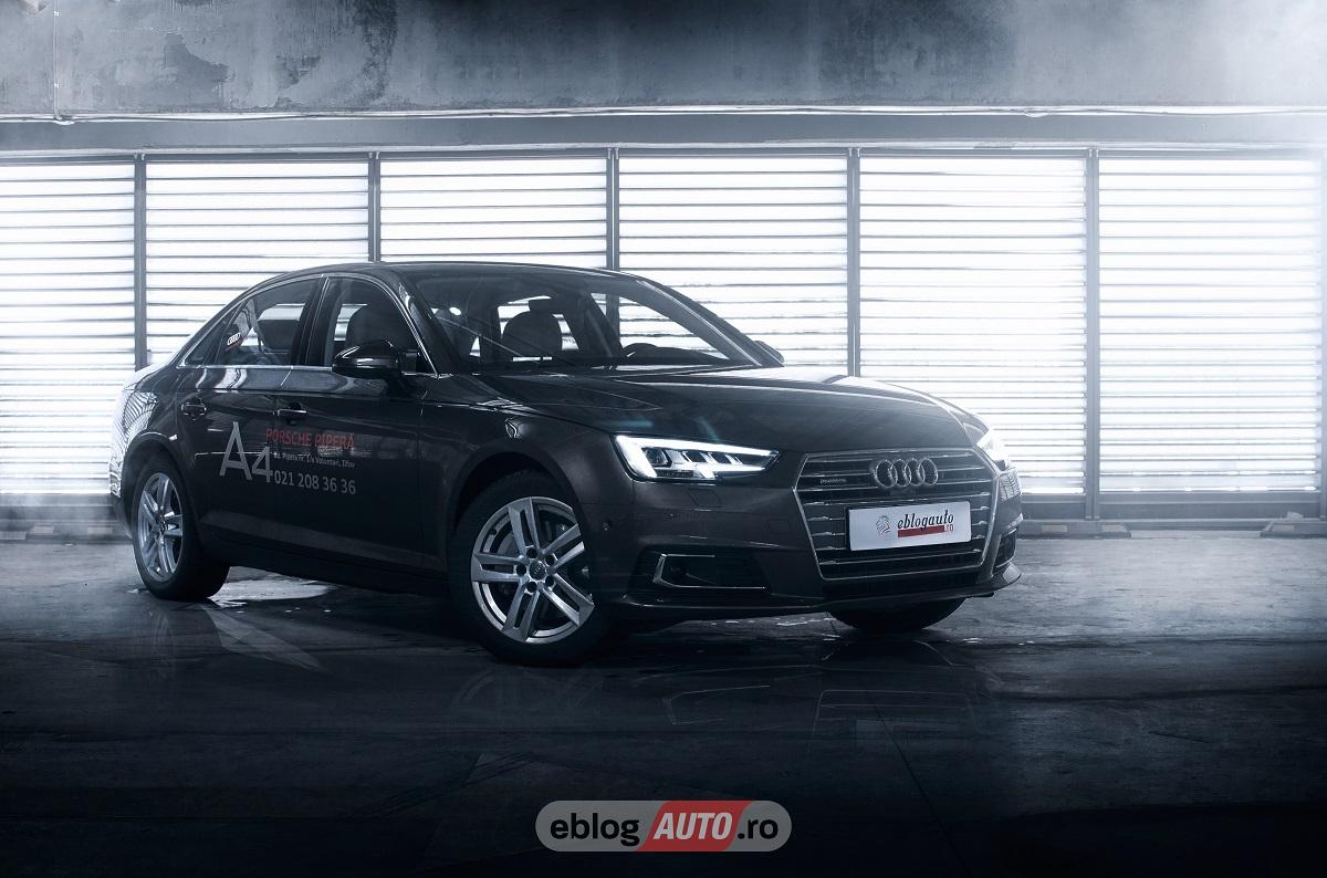 Test Drive Audi A4 2.0 TDI Quattro 2017 [REVIEW si VIDEO]