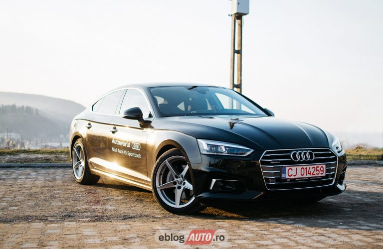 Test Drive Audi A5 Sportback 2017 [REVIEW & VIDEO]