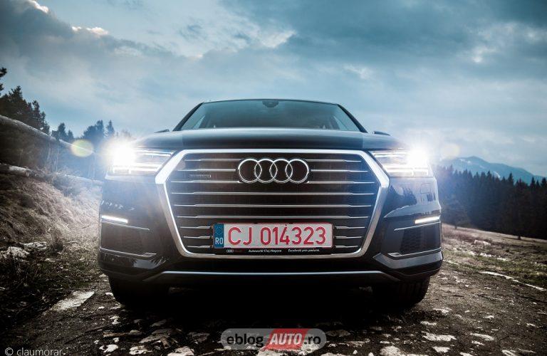 Excursie cu Audi Q7 e-tron quattro la Brașov [POV & Test Drive]