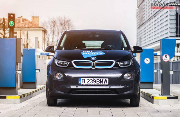 Test drive GetPony și BMW i3