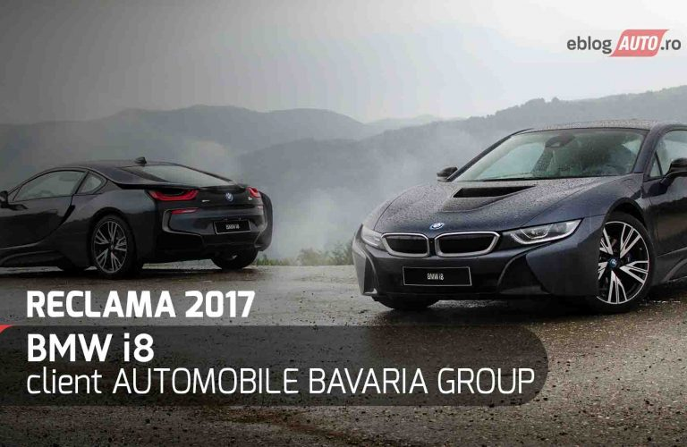 BMW i8 – prima reclama eblogAUTO