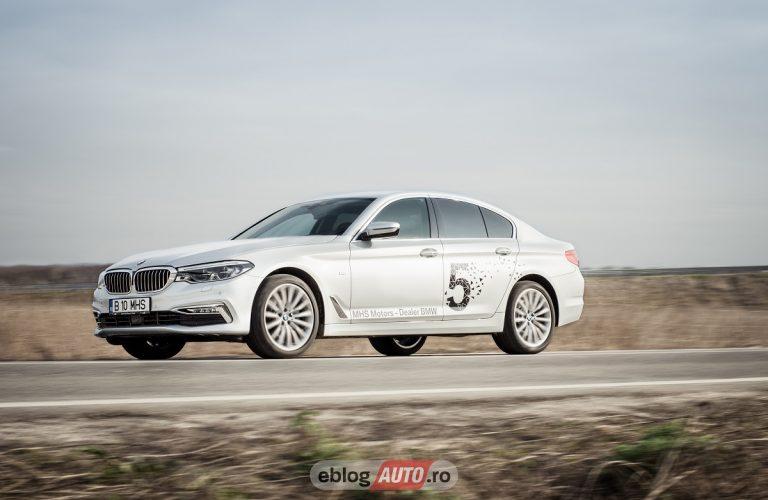 Test Drive BMW 520d xDrive (Seria 5) 2017 [VLOG]