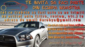 Esti invitat sa te alaturi echipei noastre de bloggeri auto