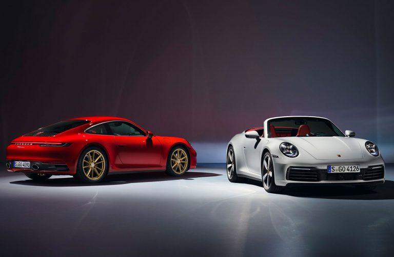 Noutăți de la Porsche: 911 Carrera Coupe și 911 Carrera Cabrio