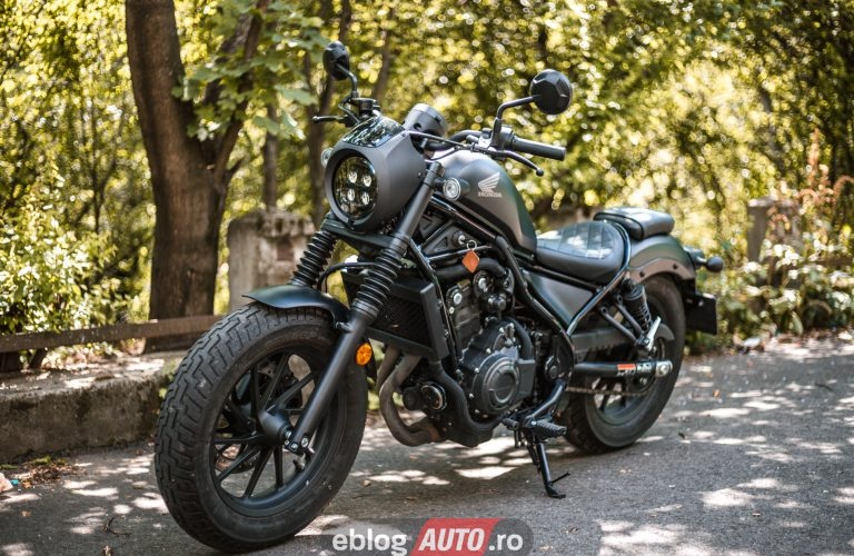Test Honda REBEL CMX 500 2020 [VIDEO]
