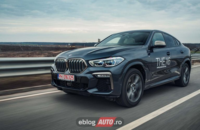 Test Drive BMW X6 M50d 2020 [VIDEO]