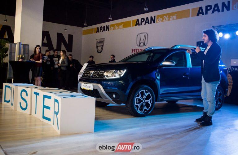 Lansare Dacia Duster 2017 – APAN Galati