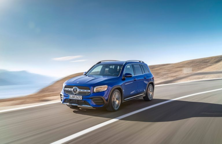 Mercedes Benz GLB a apărut oficial
