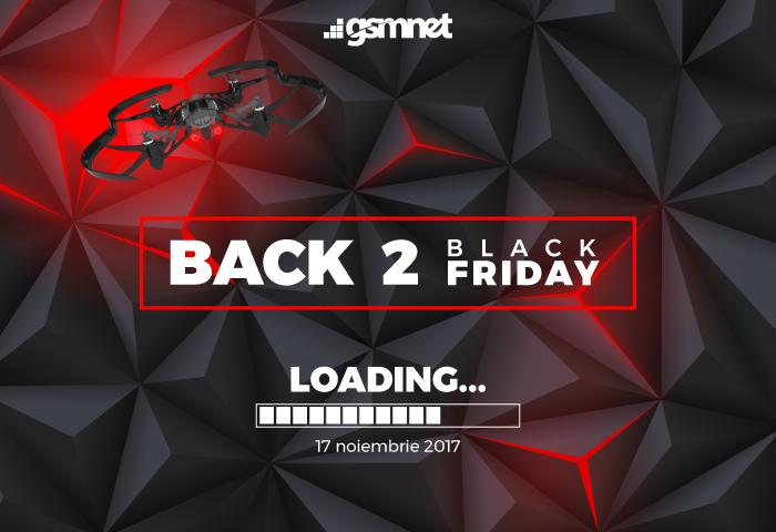 Poti castiga o Drona PARROT daca iti faci cumparaturile de Black Friday 2017 la GSMnet
