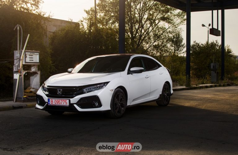 Test Drive Honda Civic 5D 1.5 VTEC Turbo 182 CP [VIDEO]