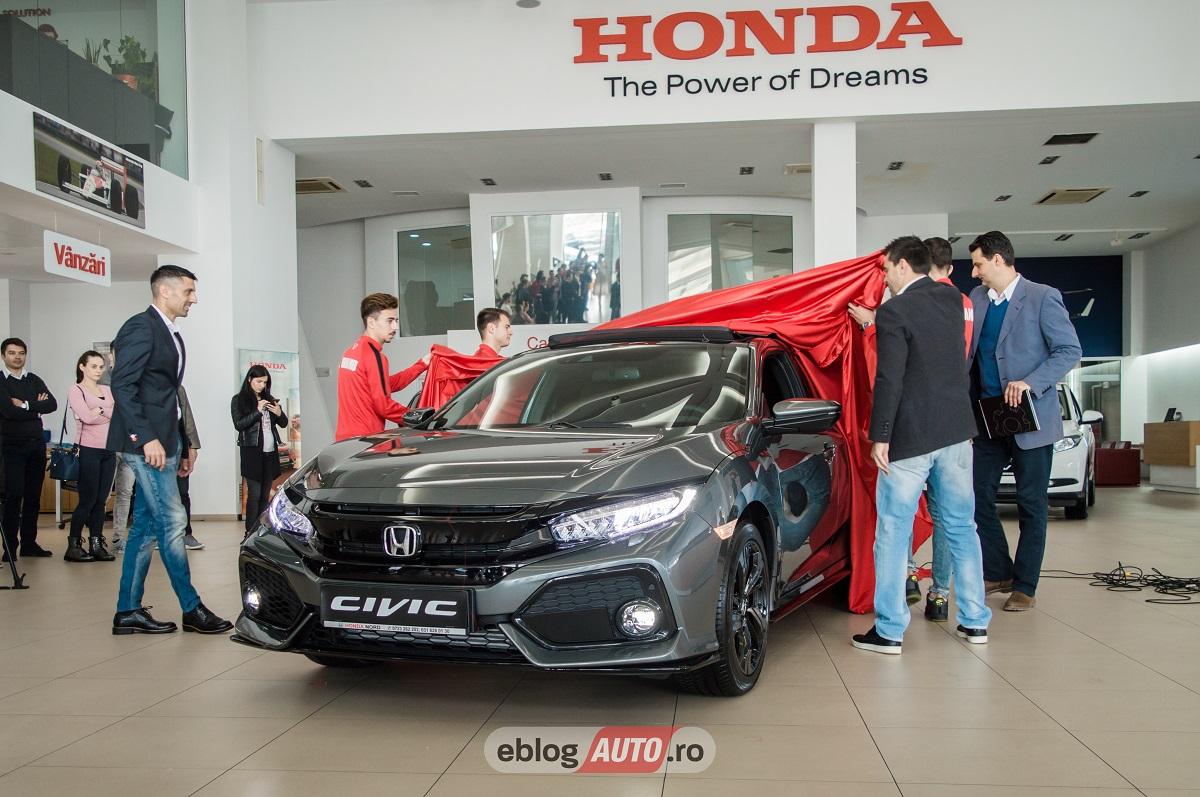 Noua Honda Civic a ajuns si in Romania