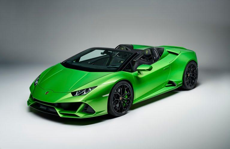 """Lamborghini Huracan Evo Spyder, o nouă """"bestie"""" italiană"""
